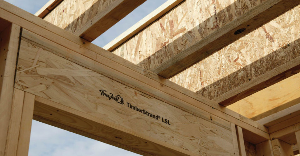 Laminated Wooden Truss ~ Lsl timberstrand peterborough truss floor ltd