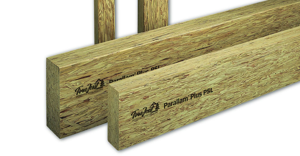 Engineered Beam Design ~ Psl parallam peterborough truss floor ltd